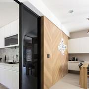 现代风格三居室餐厅厨房隔断设计效果图赏析