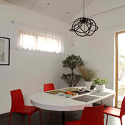 70平米现代风格餐桌效果图赏析