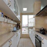 欧式风格四居室厨房橱柜效果图赏析