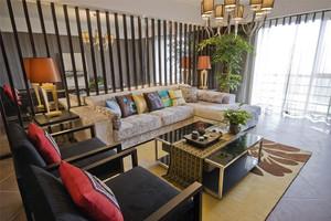 新中式风格大户型室内装修效果图鉴赏