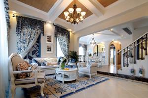 430平米地中海风格别墅室内装修效果图赏析