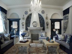 地中海风格别墅室内装修效果图赏析