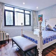 欧式风格三居室儿童房装修效果图赏析