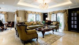 古典美式风格四居室室内装修效果图鉴赏