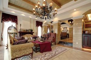 美式风格别墅室内装修效果图赏析