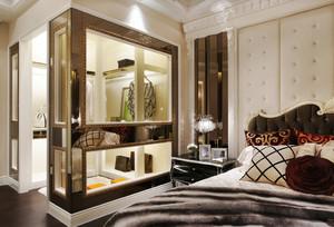 168平米现代法式风格室内装修效果图赏析