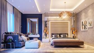 现代风格大户型豪华卧室装修设计效果图鉴赏