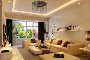 现代简约风格一居室室内装修效果图赏析