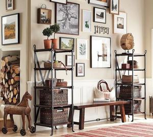 美式风格一居室照片墙效果图鉴赏