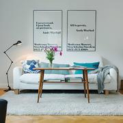 小户型北欧风格客厅沙发背景墙装修效果图赏析