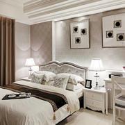 12平米简欧风格卧室背景墙设计装修效果图