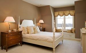 8平米简欧风格女生卧室窗帘设计效果图