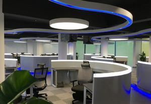 现代简约风格办公室设计装修效果图赏析