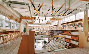 120平米现代简约风格书店设计装修效果图赏析