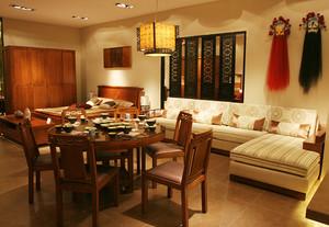 206东南亚风格混搭欧式风格别墅室内设计装修效果图鉴赏