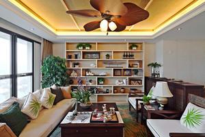 大户型东南亚风格室内整体设计装修效果图大全