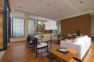 346平米现代简约风格自建别墅室内设计装修效果图赏析