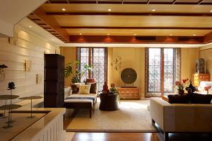 异域风情东南亚风格三室两厅装修效果图赏析