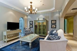 精致自然地中海风格复式楼室内设计装修效果图赏析