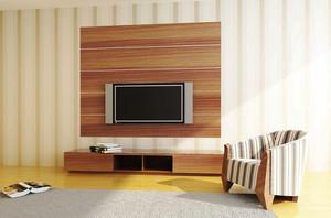 10平米宜家风格客厅实木电视柜设计效果图赏析