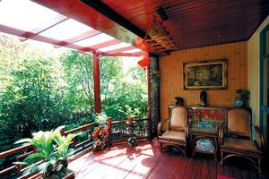 156平米东南亚风格精致四室两厅两卫装修效果图赏析