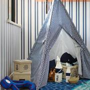 10平米地中海风格精致儿童房卧室效果图鉴赏