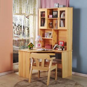 6平米现代简约风格儿童房学习书桌设计效果图