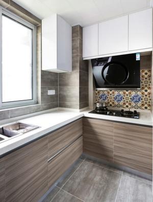 现代极简主义风格厨房设计效果图赏析