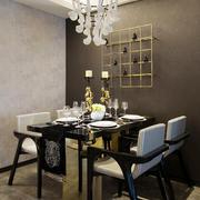 5平米现代简约风格餐厅创意吊顶装修效果图