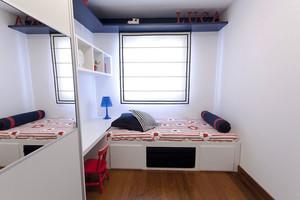 8平米现代简约风格榻榻米床装修效果图大全