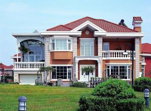 欧式风格农村自建别墅设计装修效果图