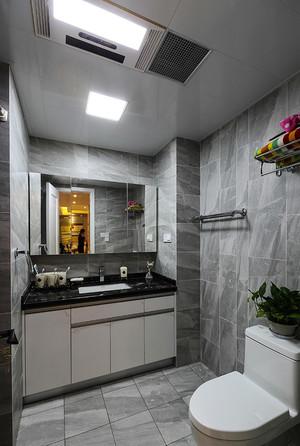6平米现代风格中性冷调卫生间设计效果图