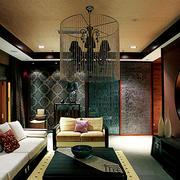空间其他中式局部三居室装修