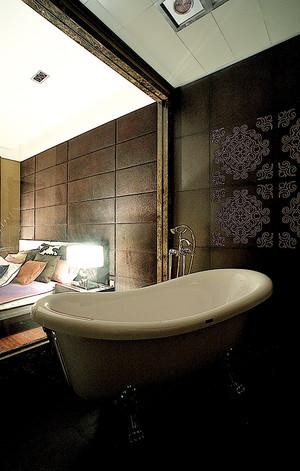 古典中式风格三室两厅一卫装修效果图赏析
