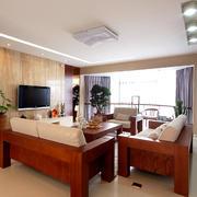 客厅中式家具两居室装修