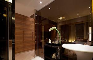 168平米独特魅力现代中式风格别墅室内装修效果图赏析