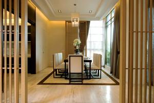 仿古现代中式风格大户型室内设计装修效果图鉴赏