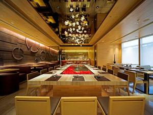 68平米现代简约风格商场餐厅商铺装修效果图鉴赏