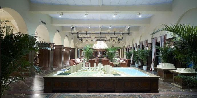 326平米巴洛克风格别墅室内设计装修效果图赏析