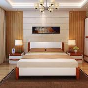 7平米现代简约中式风格卧室装修效果图