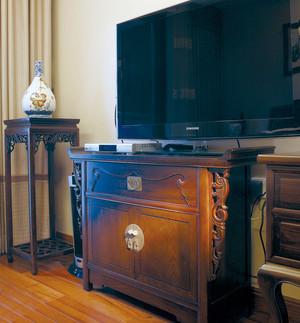 258平米中式雅韵风格别墅室内装修效果图赏析