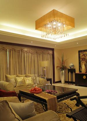 84平米中式风格一居室装修效果图赏析