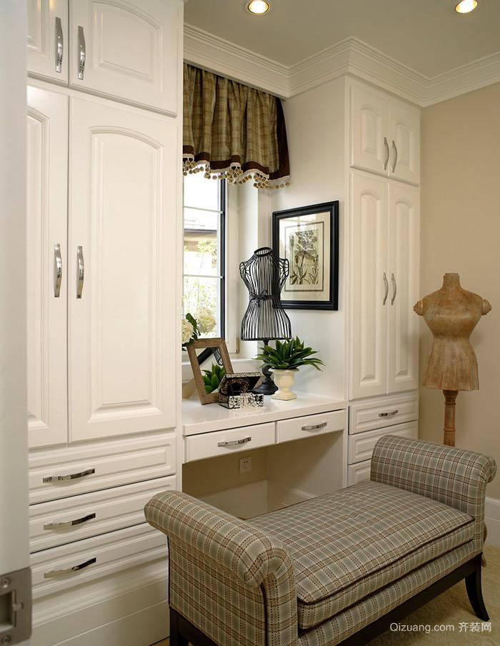 213平米简欧风格两层别墅室内设计装修效果图