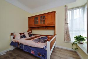 都市简约温馨儿童房实木床装修效果图赏析