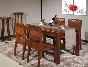现代中式风格黑桃木家具装修效果图大全