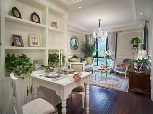 美式田园风格两室一厅装修效果图赏析