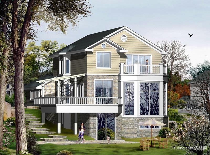 362平米简欧风格自建三层别墅装修效果图赏析