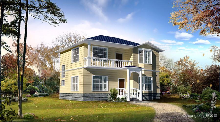 143平米现代风格农村自建别墅装修效果图赏析
