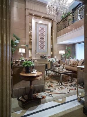 276平米新古典主义欧式风格自建别墅室内装修效果图