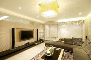 168平米后现代简约风格两室两厅装修效果图赏析